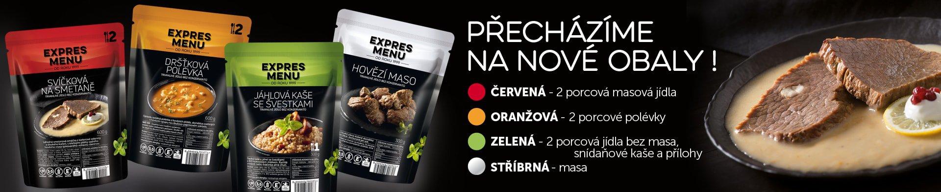 Jidlonadovolenou.cz bude dodávat Expres Menu s novými obaly.